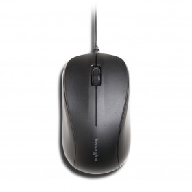 Mouse For Life 3 Botones USB – Negro  K72110 | SAP 27106 (PACK 5 unidades)